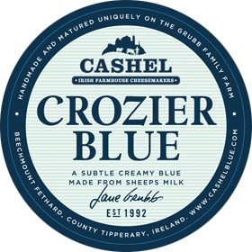 Crozier Blue Cheese a Subtle Creamy Blue made from Sheeps Milk