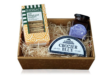 CROZIER BLUE HALF MOON HAMPER