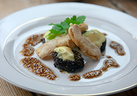 Cashel-Blue-Black-Pudding-and-Battered-Apple-Starter-thumbnail
