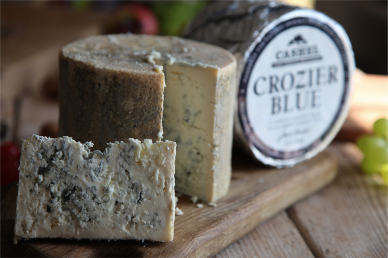 Crozier Blue award winning Sheep's Milk Blue Cheese by Cashel Blue