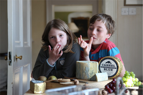Blue Cheese called by Cashel Blue developed as alternative to stronger Stilton Cheese