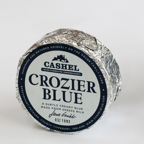 Crozier Blue half Cheese