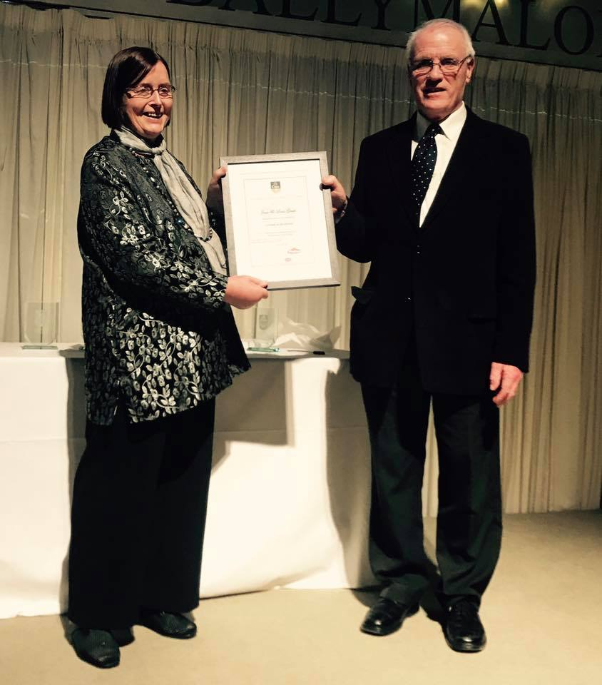 Louis and Jane lifetime award